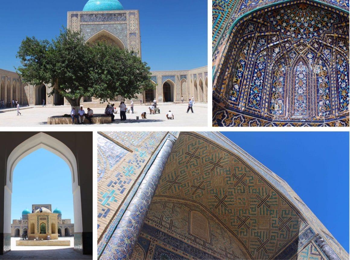 Buchara Poi Kalon Oezbekistan