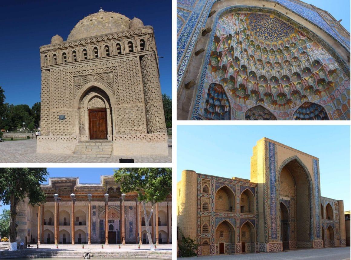 Buchara oezbekistan zijderoute