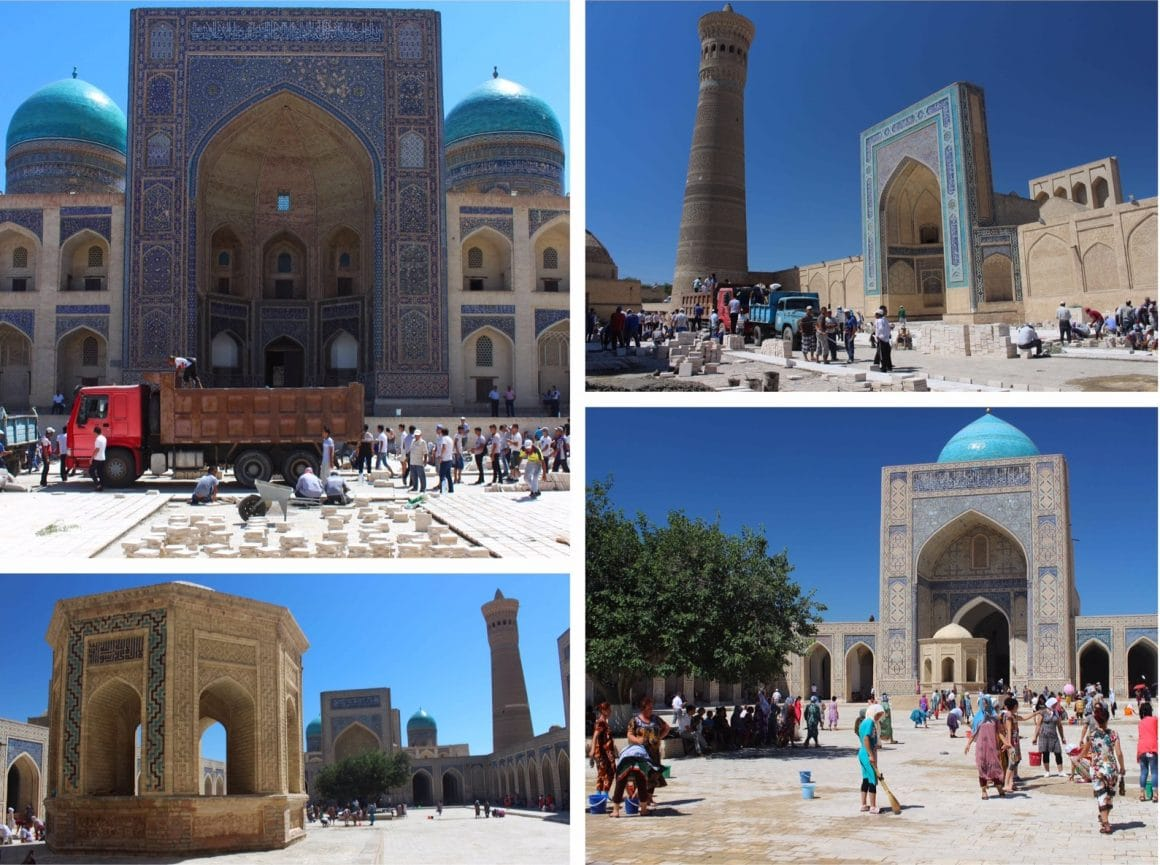 Buchara Oezbekistan Poi Kalon