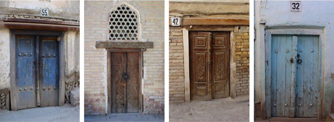 Deuren Buchara Oezbekistan