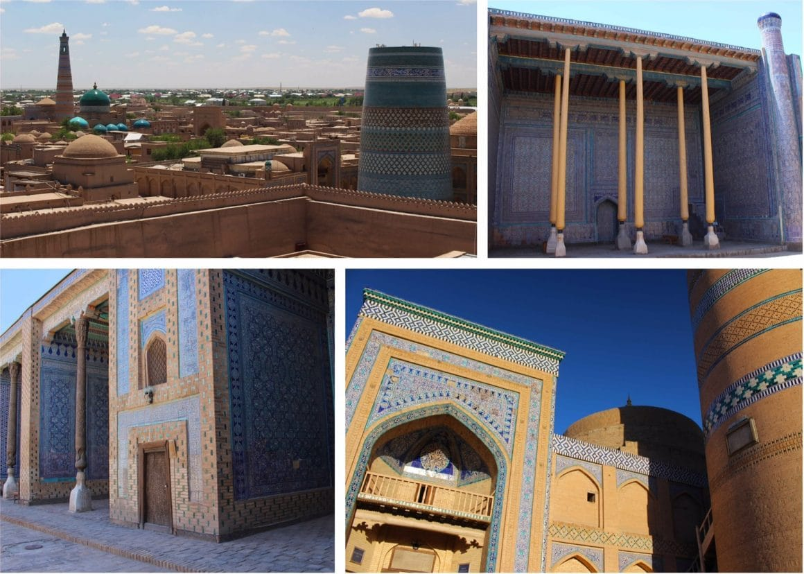 Khiva Oezbekistan hoogtepunten