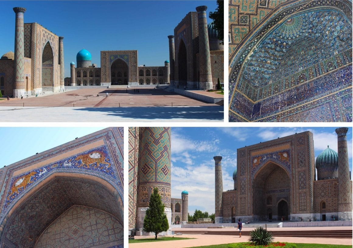 Registan samarkand oezbekistan