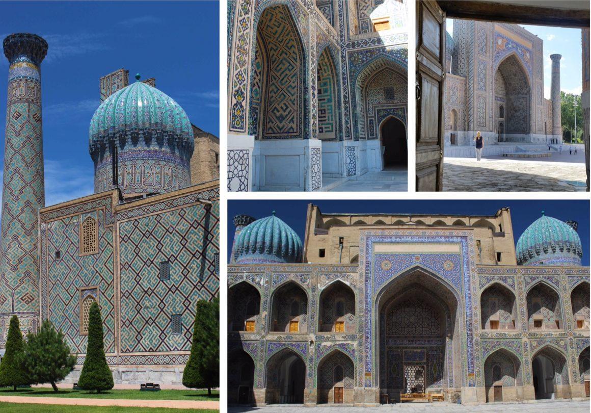 samarkand registan oezbekistan