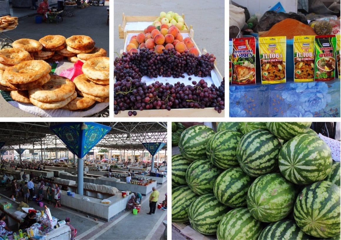 siab bazaar oezbekistan samarkand