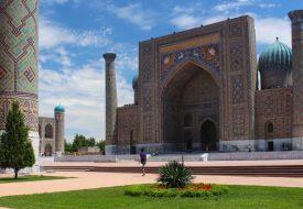 Samarkand, the eye catcher of the Uzbek silk road