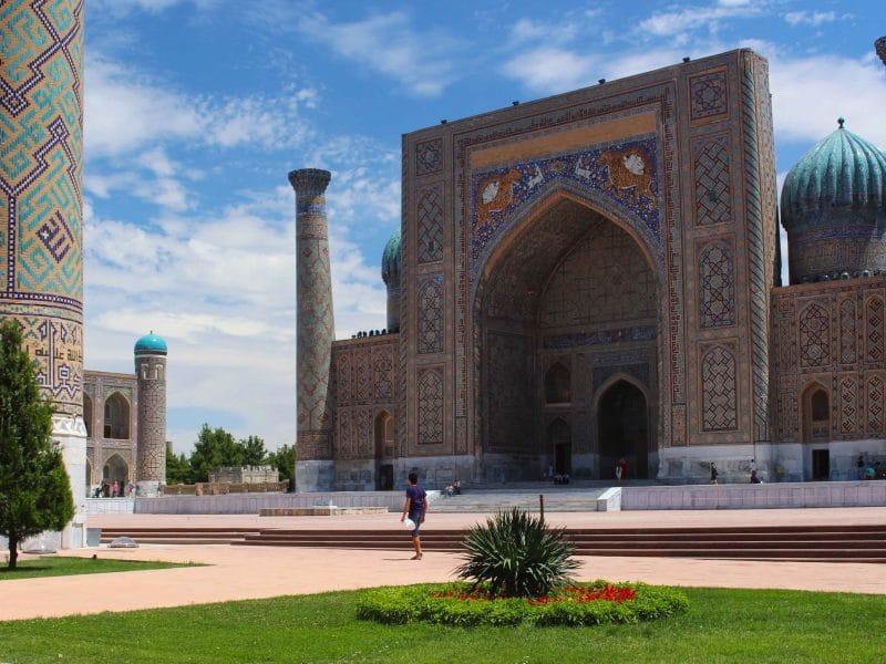 Samarkand oezbekistan