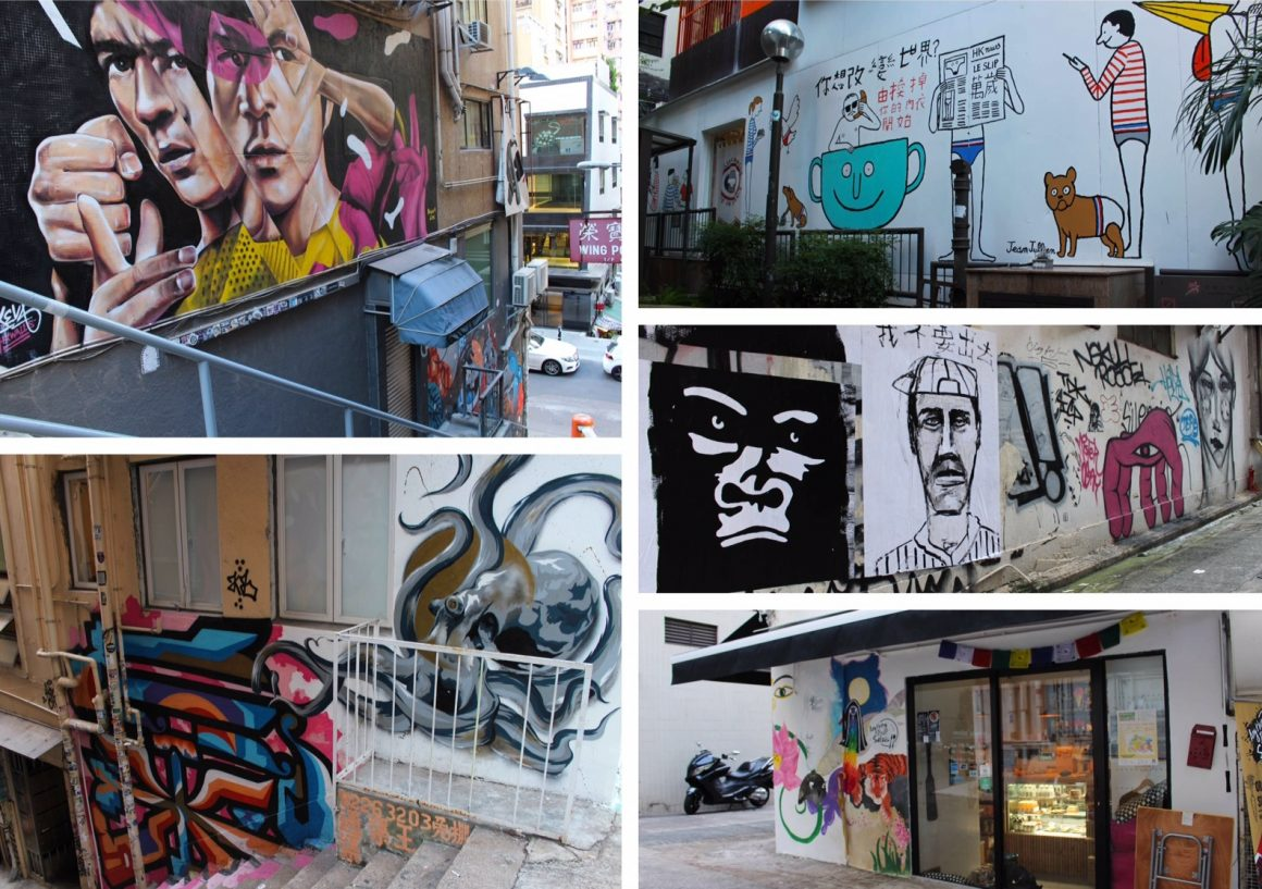 Hong Kong street art