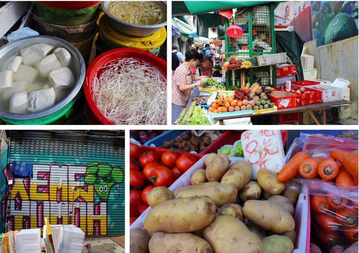 Groentemarkt Hong Kong