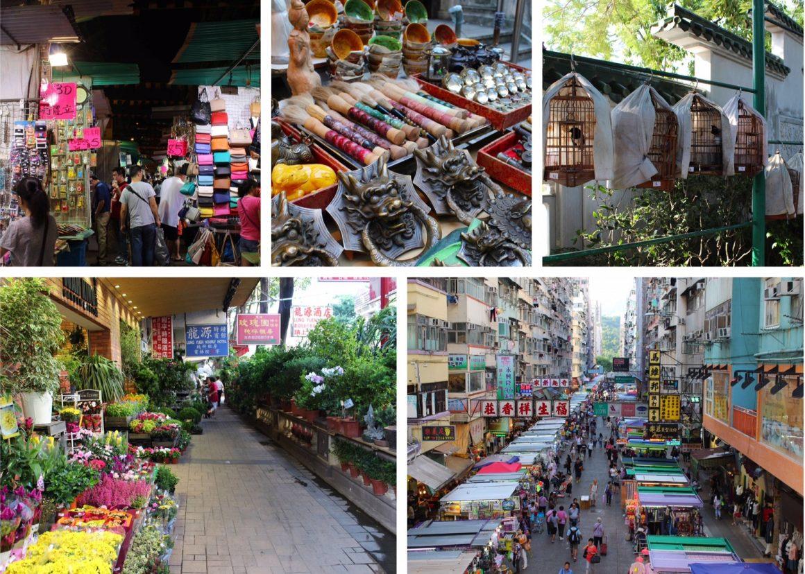 Hong Kong markten