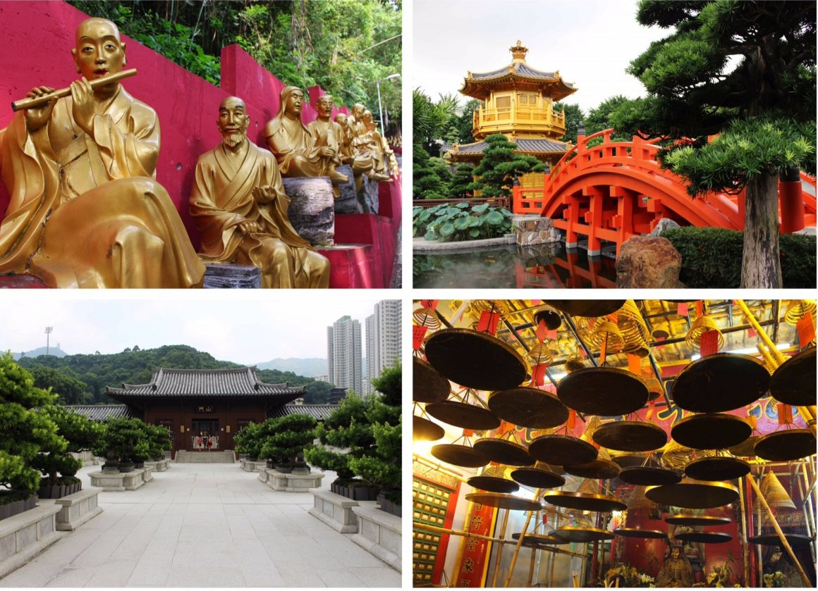Hong Kong tempels