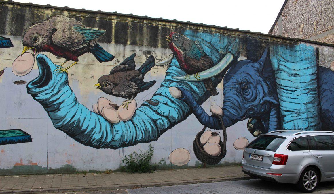 Gent street art Belgium
