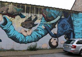 Street art spotten in België: Gent & Oostende
