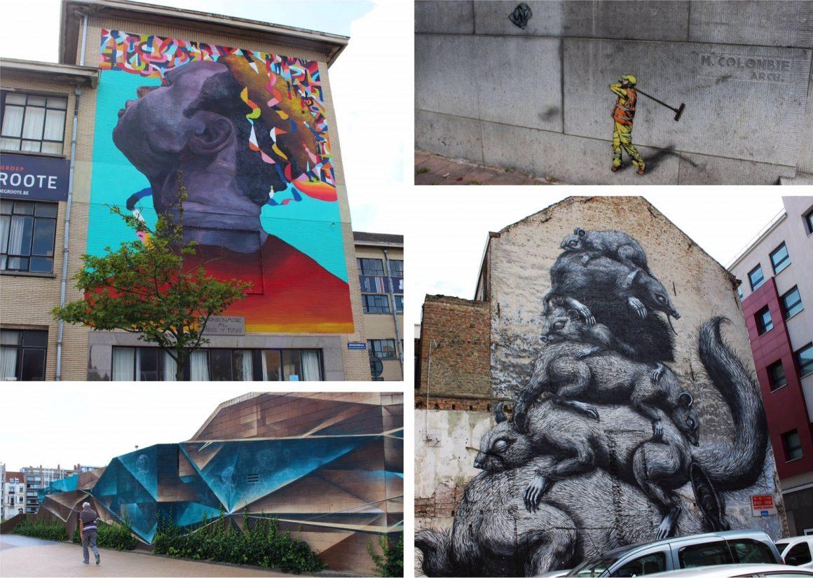 Street art Oostende