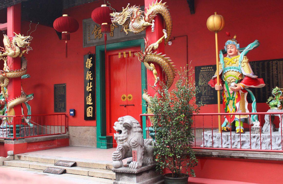 Chinese temple Kuala Lumpur