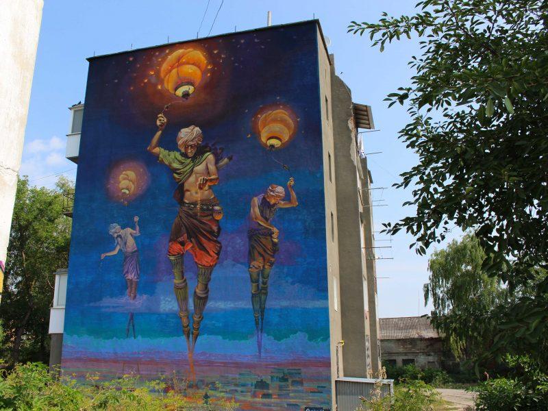Kamianets Podilsky street art