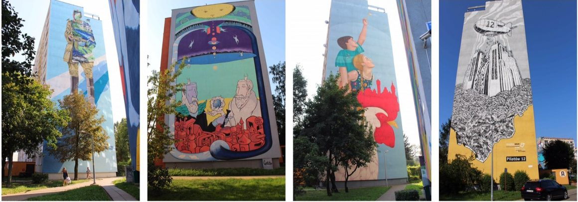 Street art Gdansk Zaspa