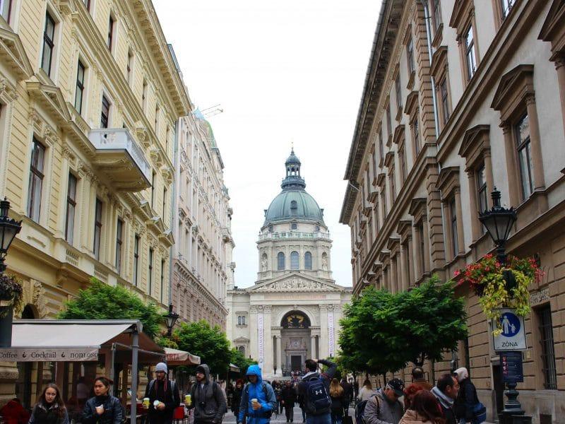 Boedapest Pest zijde