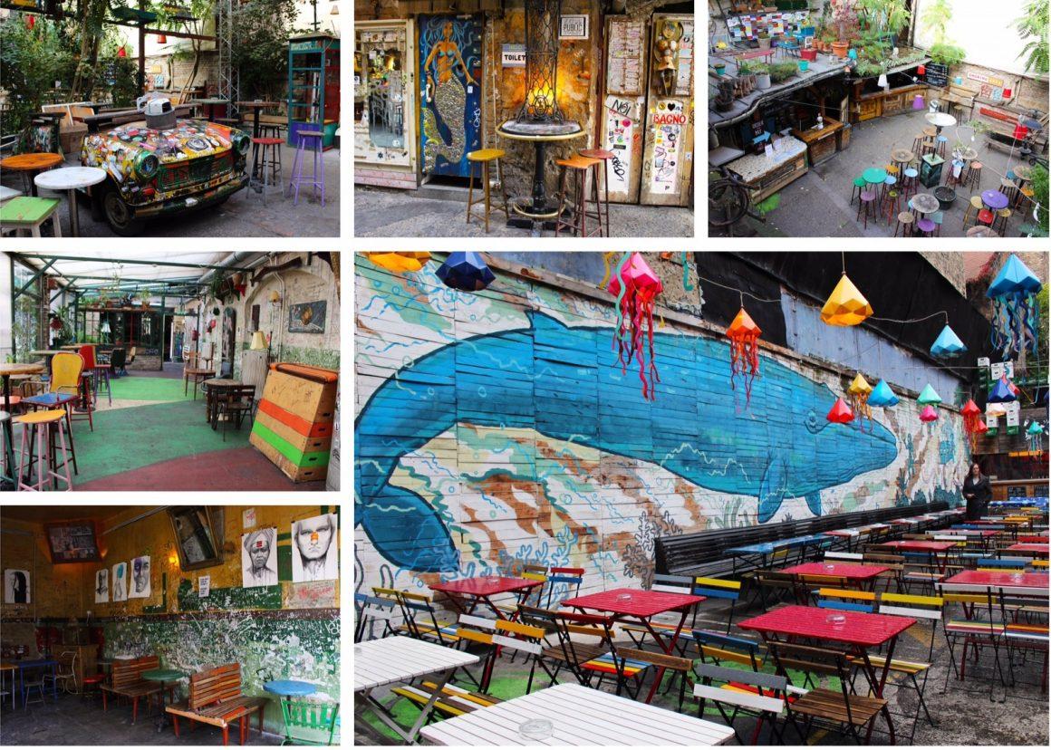 Boedapest ruine cafes