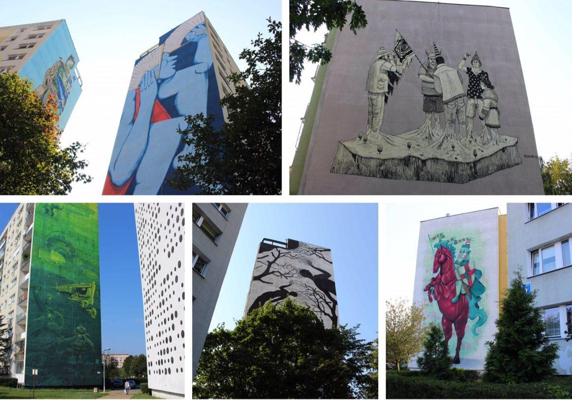 gdansk street art Polen