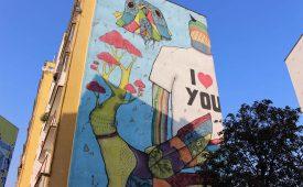 Zaspa: street art in 'mural city' Gdansk