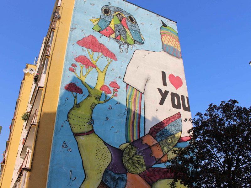 Gdansk Zaspa street art