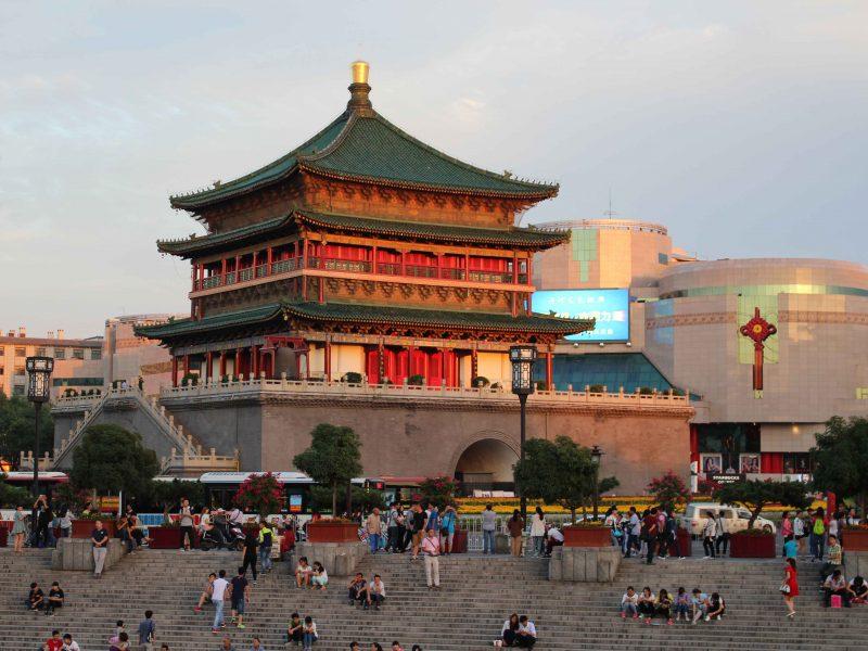 xian temple China