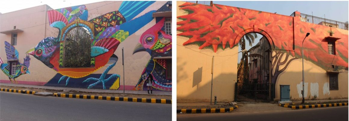 Street art Delhi Lodhi Colony