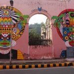 Street art Delhi India