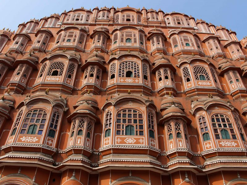 Cycling tour Jaipur Hawa Mahal