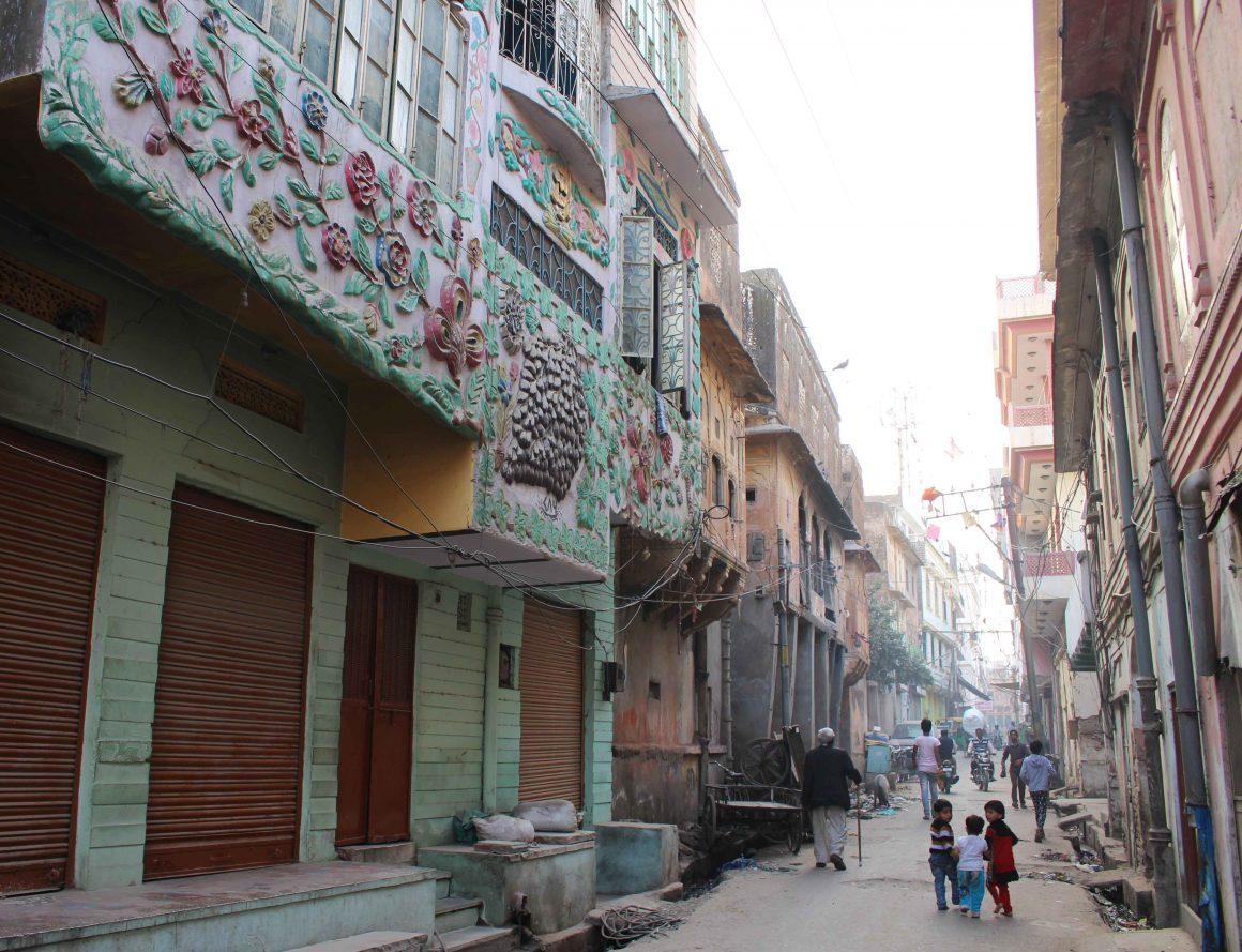 Jaipur India straatbeeld
