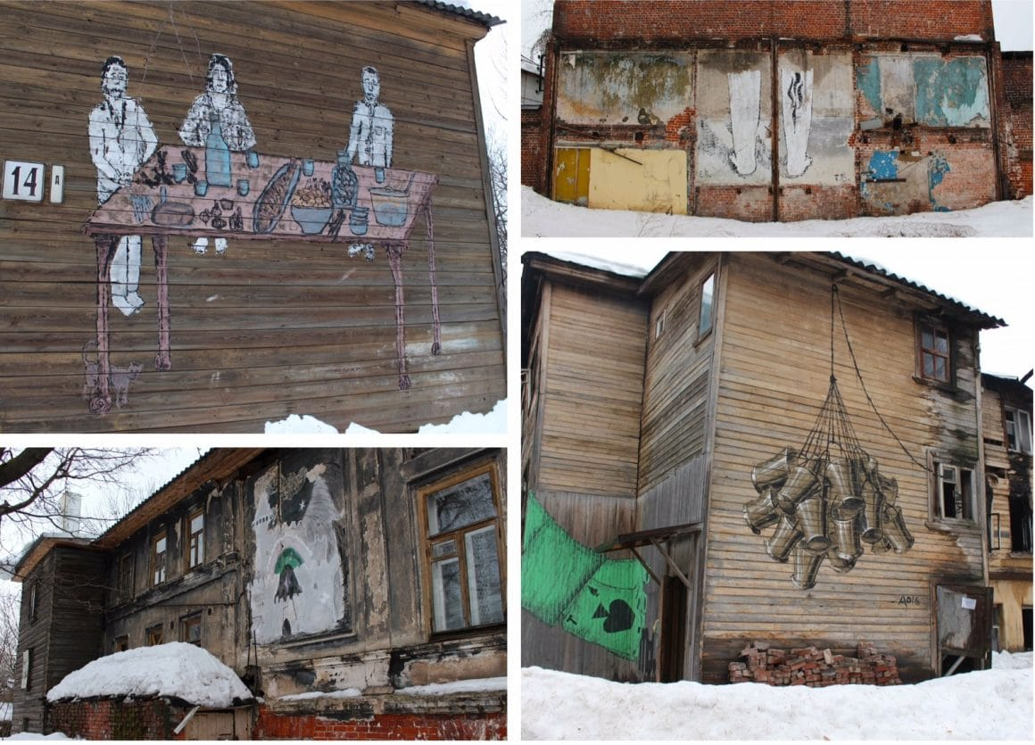 Street art Nizhny Novgorod