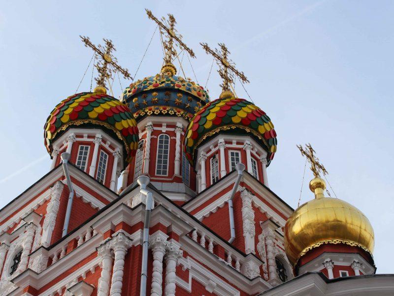 Stroganov kerk Nizjni Novgorod