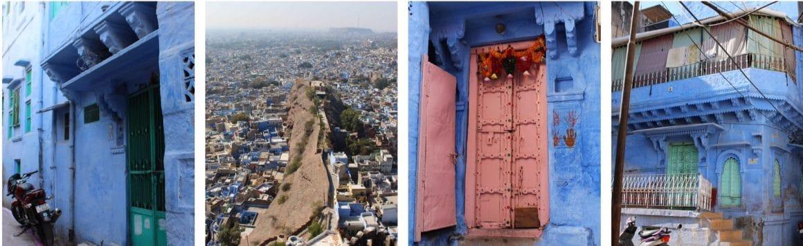 Blauwe stad Jodhpur India
