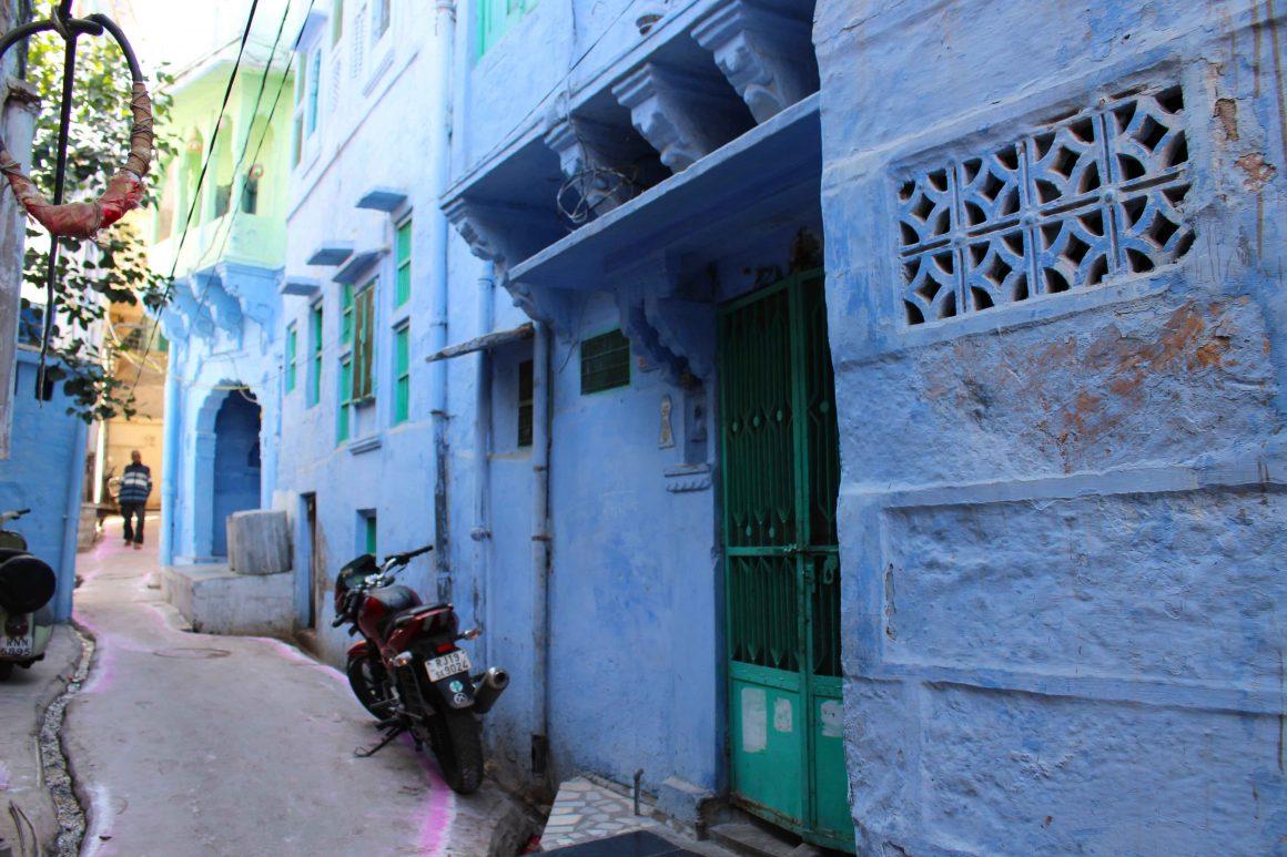 blue street jodhpur