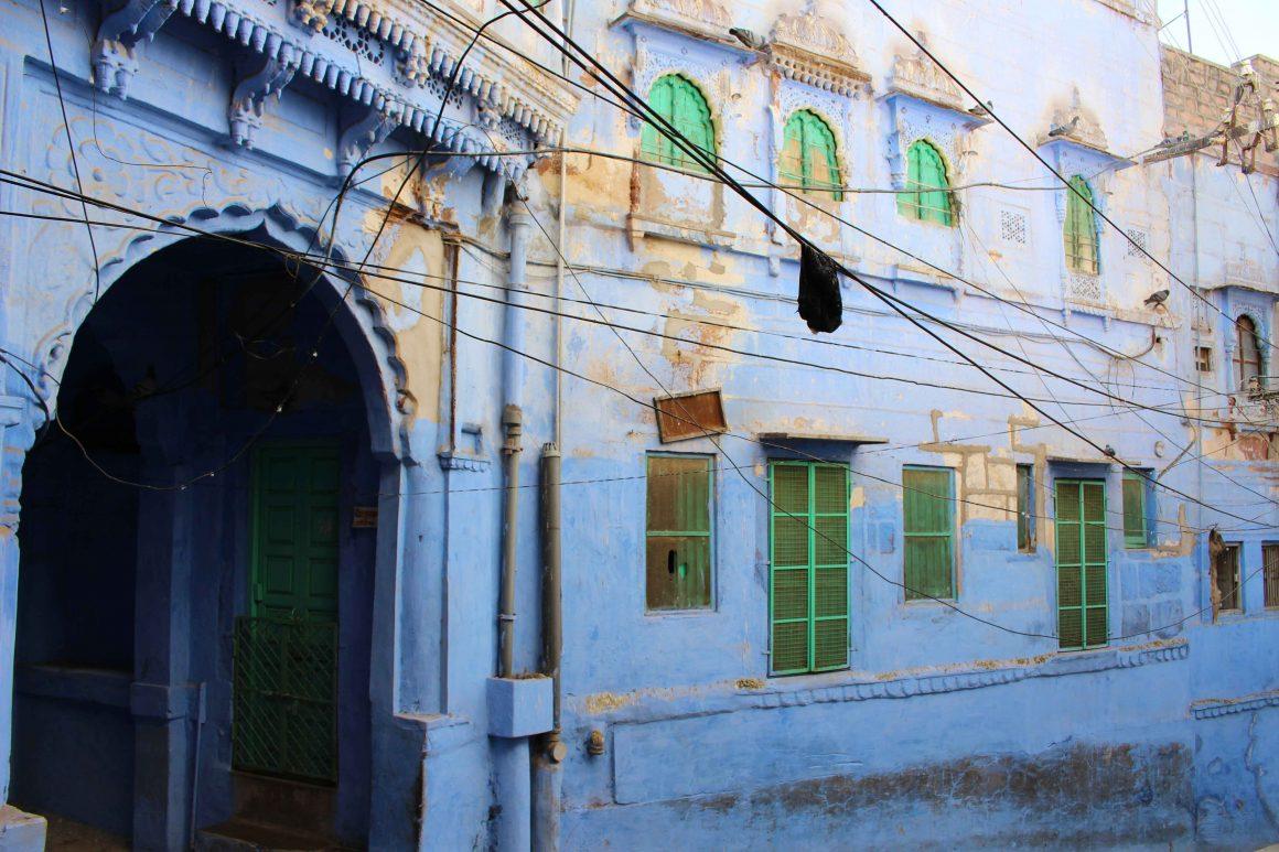blue streets jodhpur india