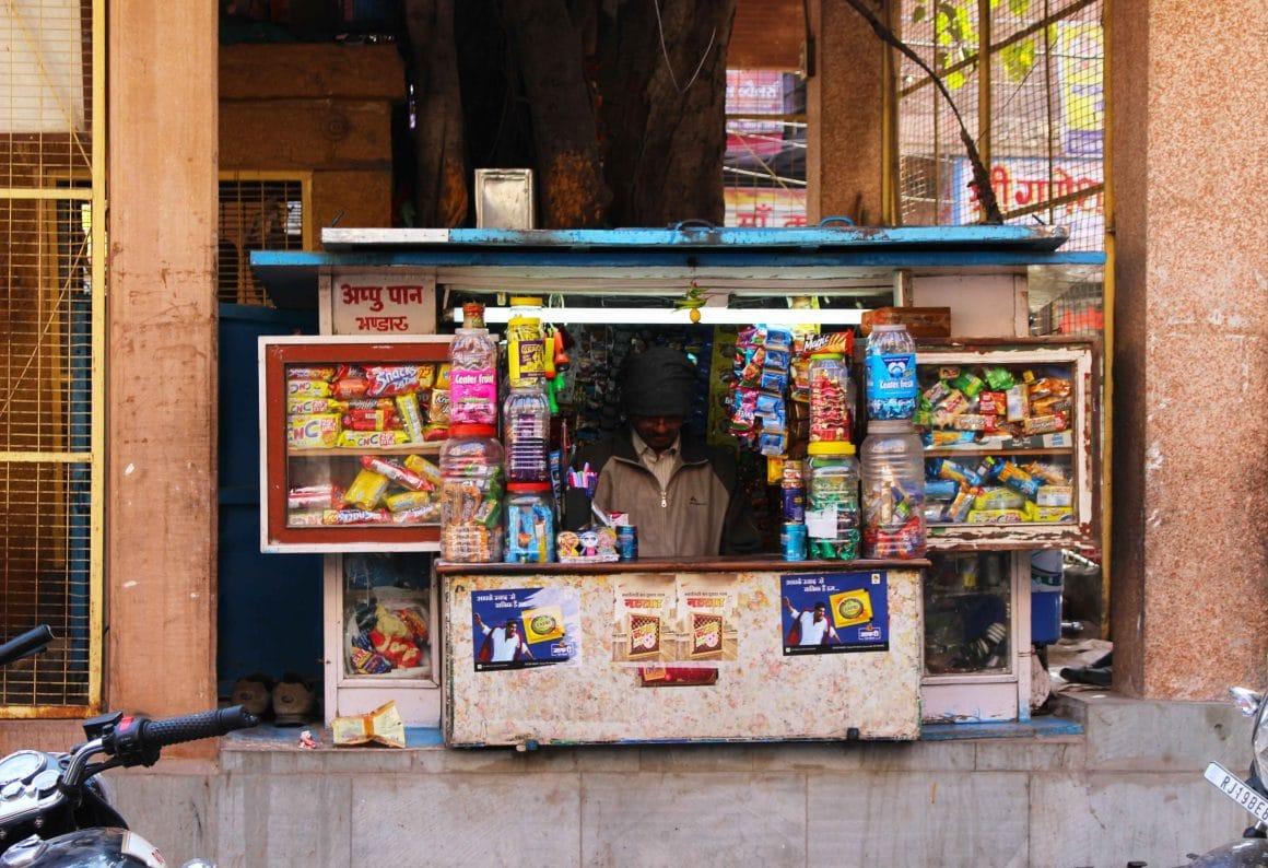 Jodhpur India shops