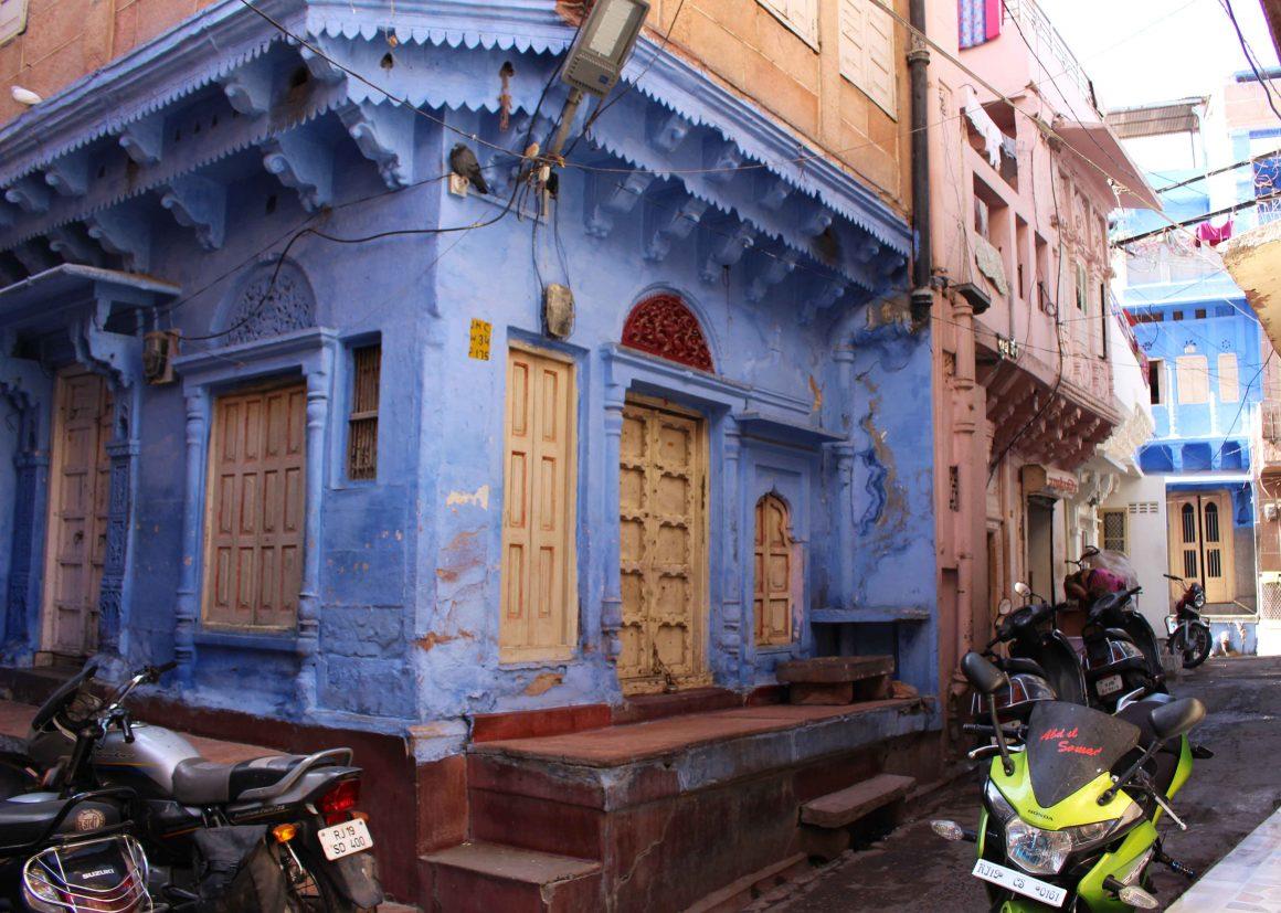 Jodhpur blue India