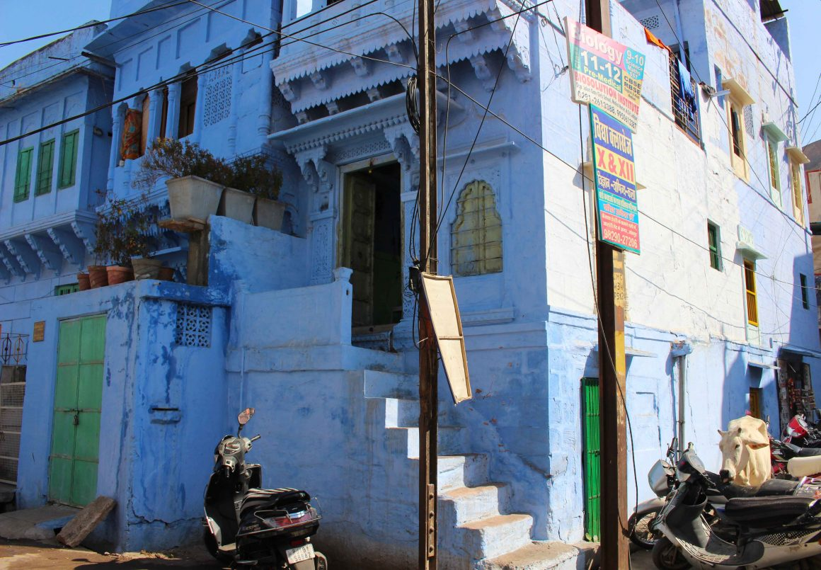 Jodhpur India blue