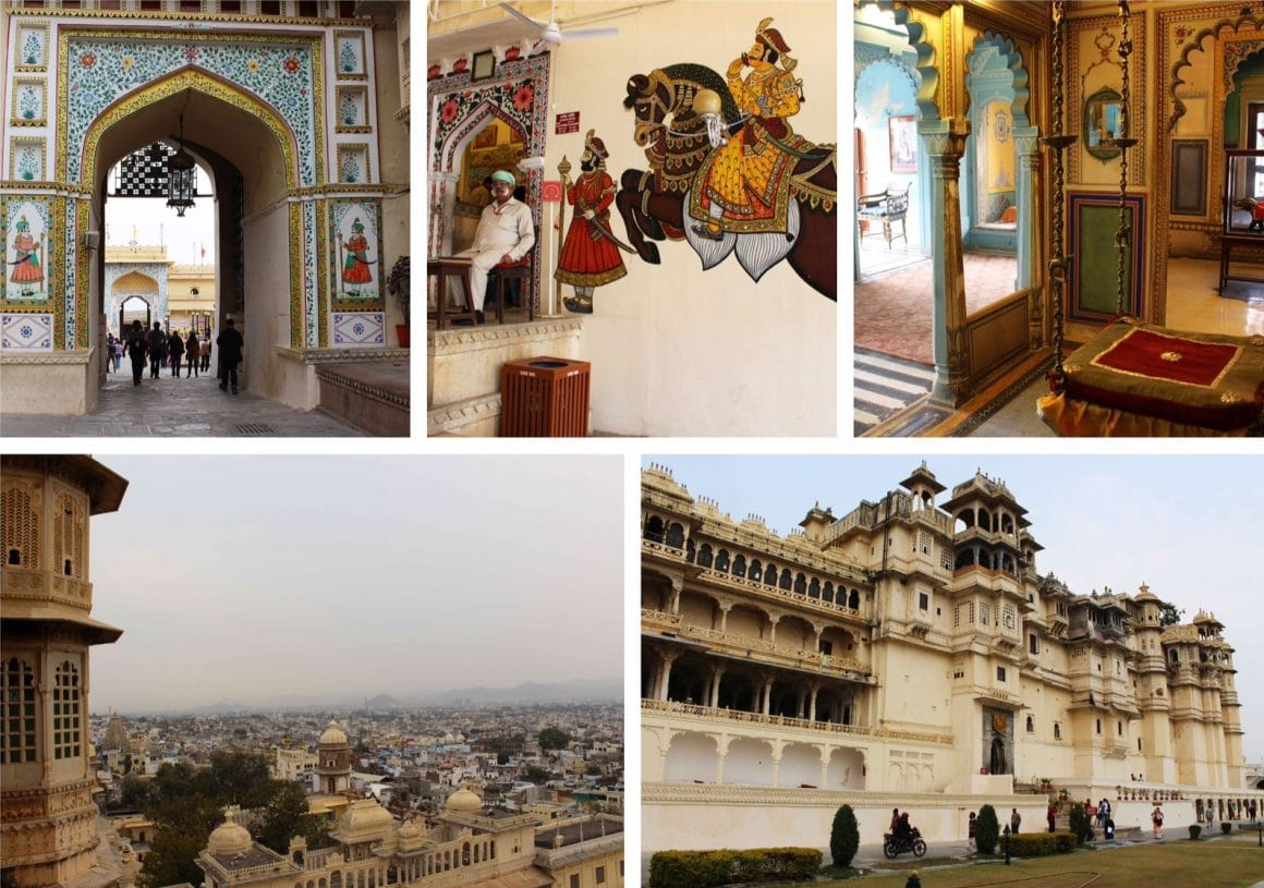 udaipur india City palace