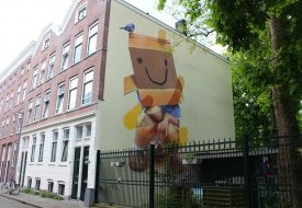 Street art in eigen land: Rotterdamse Street Art Route
