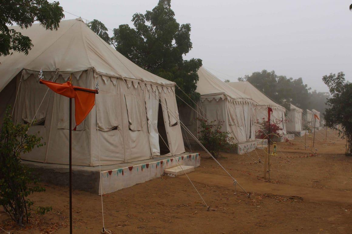 Desert camping India jaisalmer
