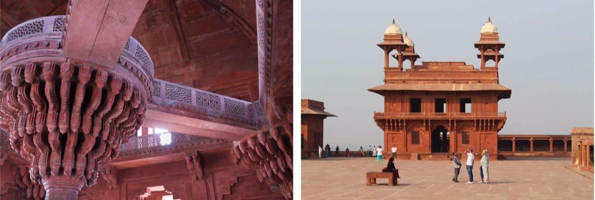Fatehpur Sikri India paleis