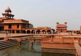 Van Jaipur naar Agra: de verlaten stad Fatehpur Sikri