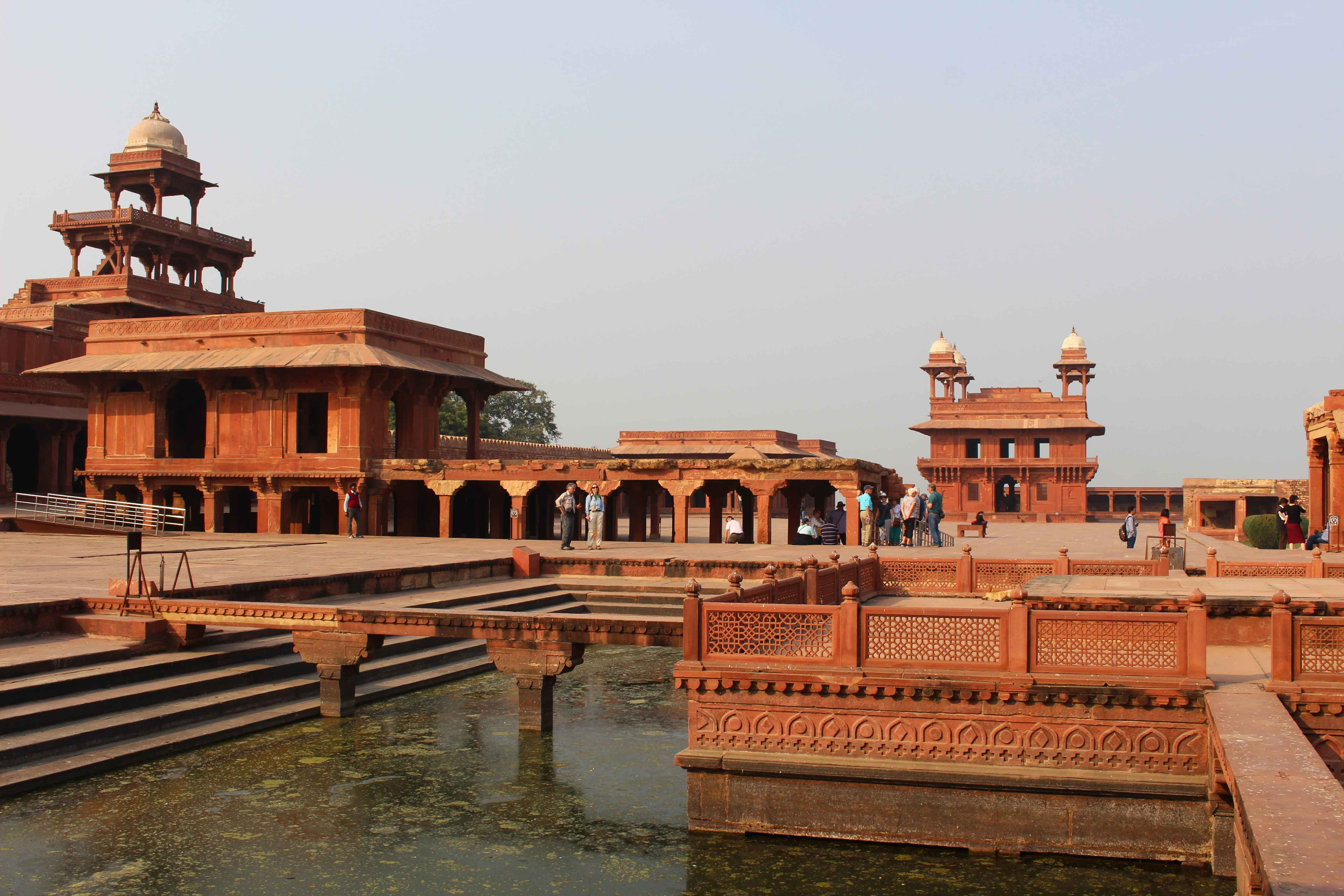 Fatehpur Sikri India paleizen