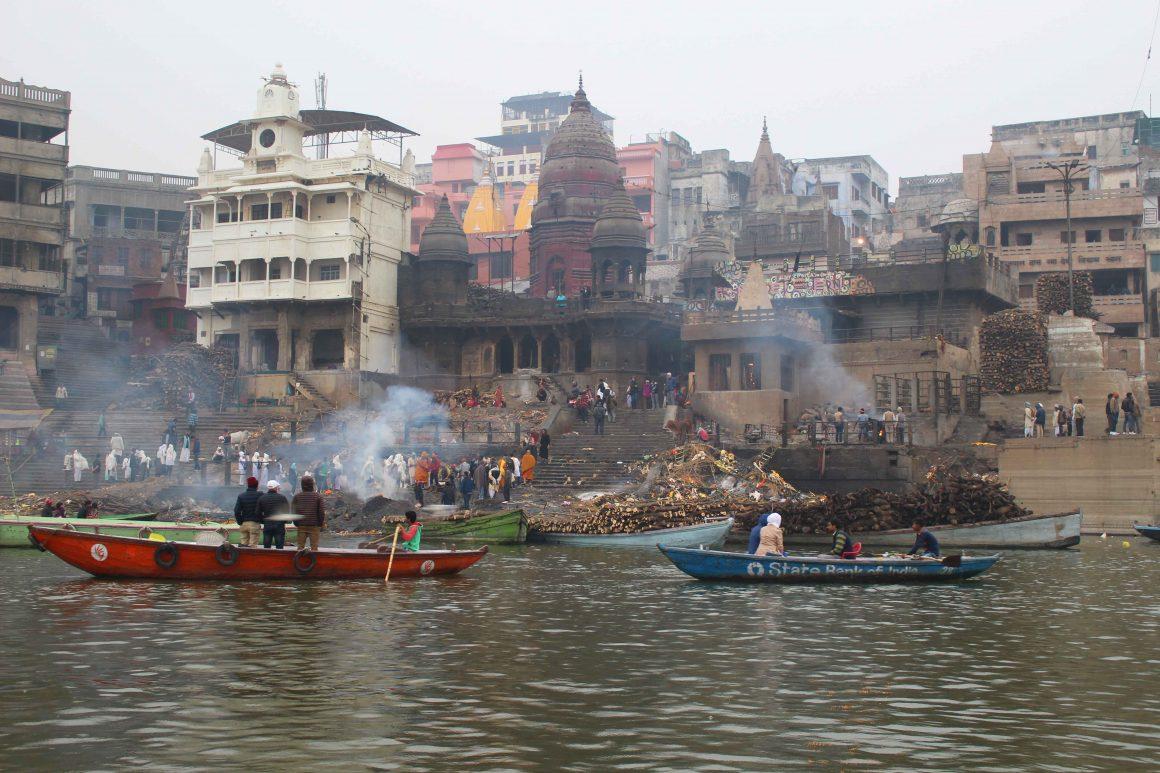 Crematie ghats varanasi