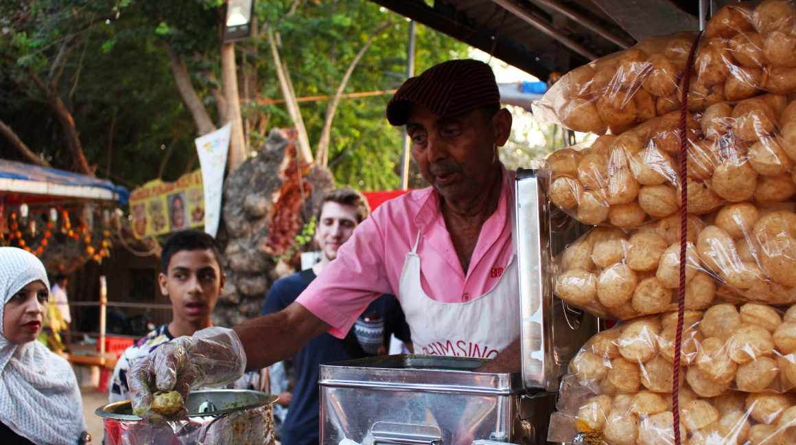 Mumbai India street food