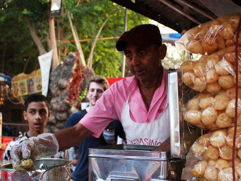 Mumbai India street food