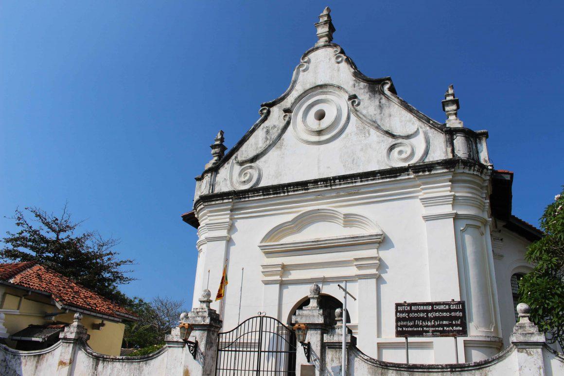 Galle Dutch reformed church