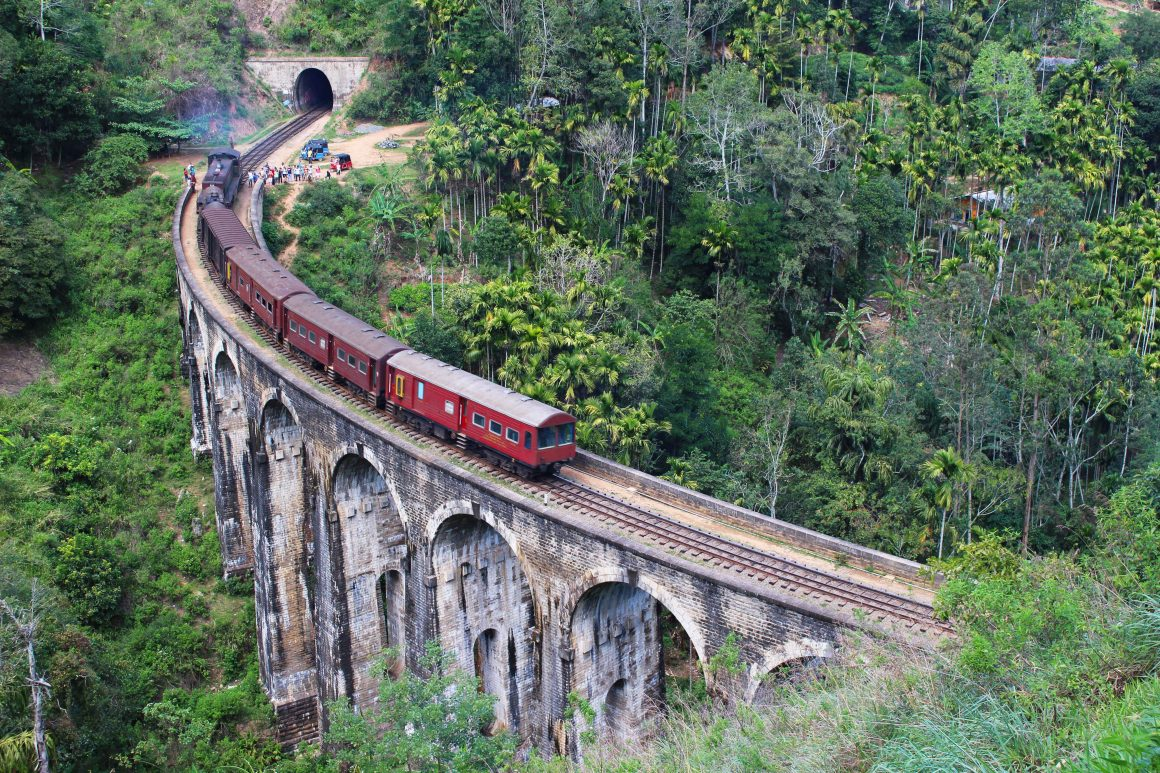 Sri Lanka Demodara bridge