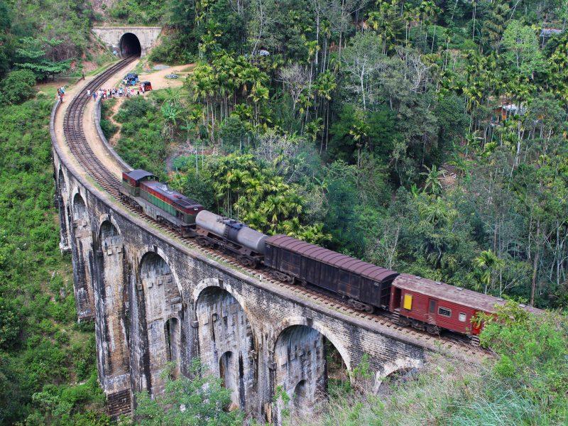 Demodara brug Sri Lanka Ella